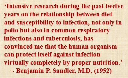 sandler proper nutrition