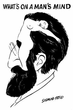 Sigmund Freud: een man die de knop tracthtte te ontwarren, zonder zich daarbij zelf rekenschap te geven van het feit dat HIJ-ZELF de knoop wás..