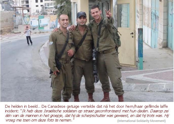 soldaten Hebron Canada