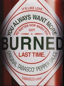 Codewoord: 'Tabasco'
