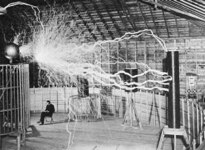 The Magnifying Transmitter van Tesla