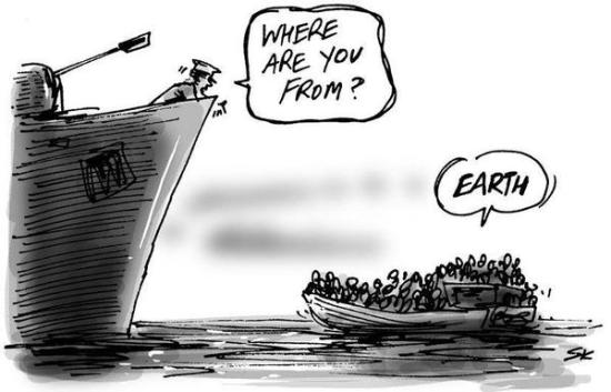 vluchteling earth