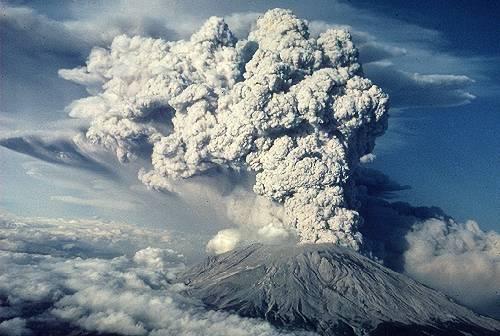 Menselijke nabootsing van de effecten van vulkaanuitbastingen op het klimaat?