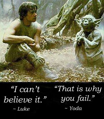 yoda believe