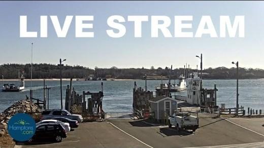 Hamptons.com Shelter Island South Ferry Cam LIVE!
