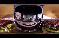 Conchita Wurst performed 'Rise Like a Phoenix' 360 degree video VR 4K #TelAvivPride