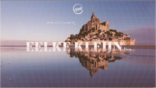 Eelke Kleijn live at Mont Saint-Michel in Manche, France for Cercle