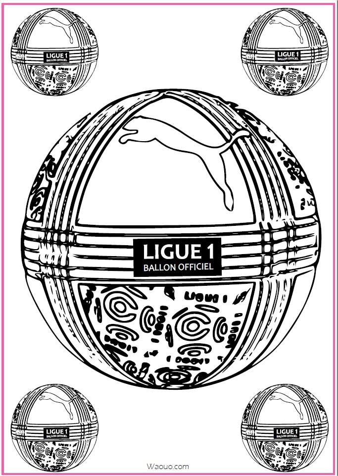 dessin à imprimer: Dessin Ballon De Foot A Imprimer