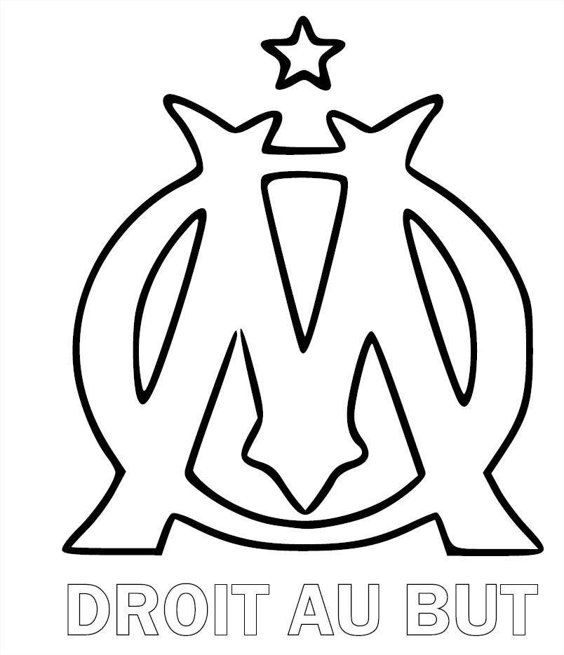 Coloriage Olympique Marseille