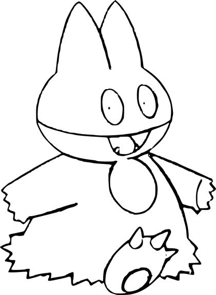 Coloriage Pokemon Goinfrex à imprimer et colorier