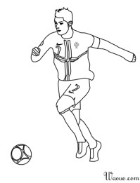 Coloriage Logo Euro 2016 France Football Foot Dessin