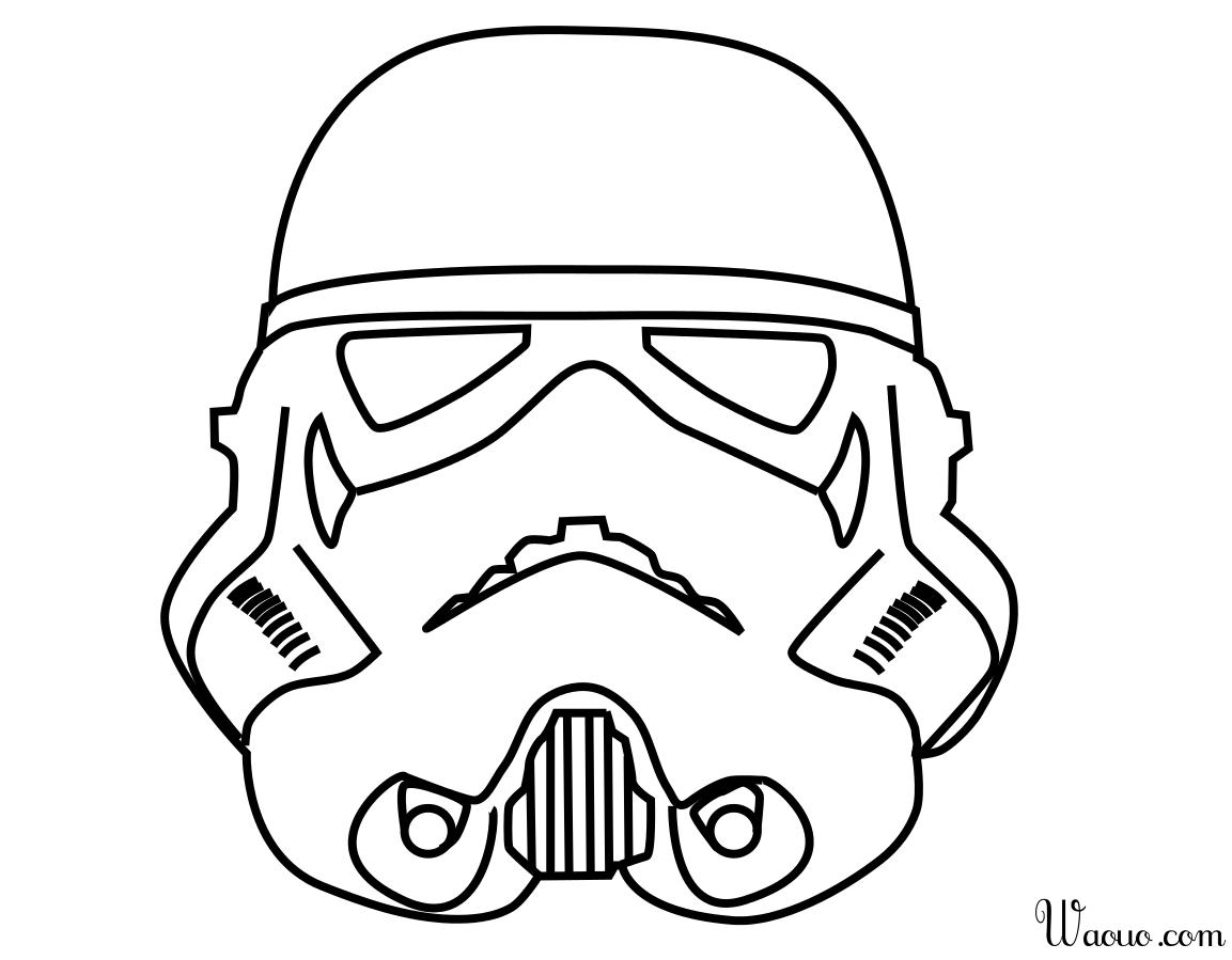 Coloriage Stormtrooper Star Wars A Imprimer Et Colorier