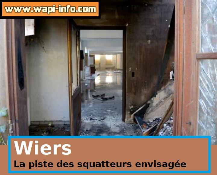 L'école Saint-Joseph incendié par des squatteurs ?