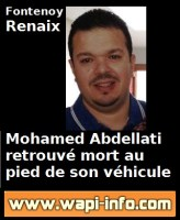 Fontenoy / Renaix : Mohamed Abdellati retrouvé mort au pied de son véhicule percuté par un camion