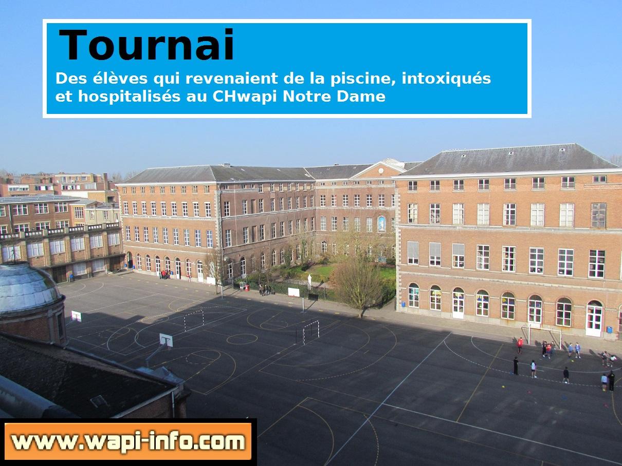 Tournai des l ves intoxiqu s et hospitalis s apr s une for Bernissart piscine