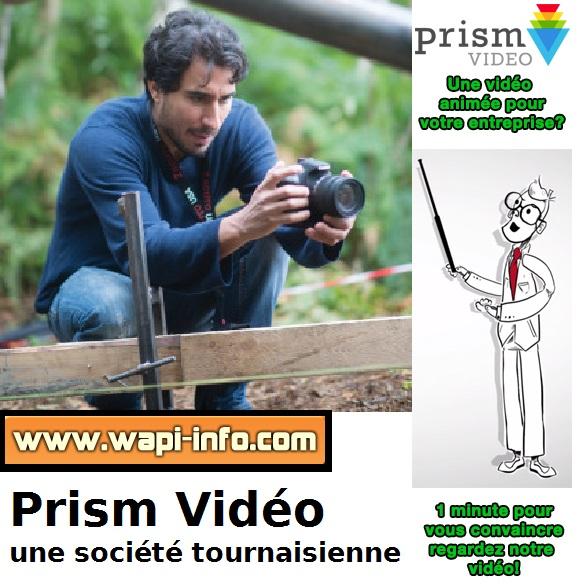 Notre offre a séduit Nicolas Torreblanca fondateur de Prism Vidéo