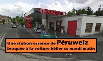 Péruwelz : une station essence braquée à la voiture bélier