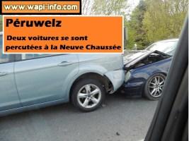 Péruwelz : grosse collision à la Neuve Chaussée