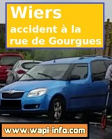 Wiers / Callenelle : accident à la rue de Gourgues ce dimanche