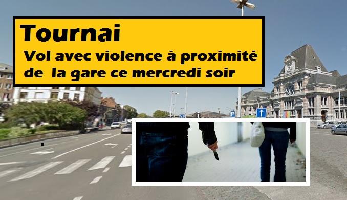 L'agression a eu lieu au boulevard des Déportés à Tournai