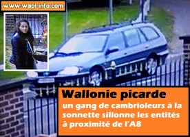 Wallonie picarde : un gang de cambrioleurs à la sonnette sillonne les entités à proximité de l'A8