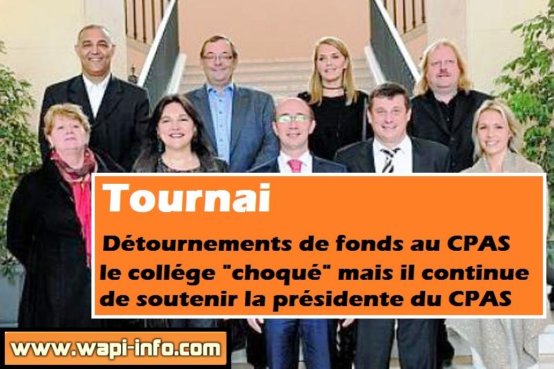 College communal Tournai