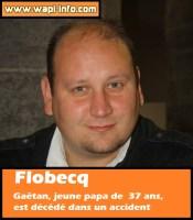 Flobecq : Gaetan, jeune papa de  37 ans, est décédé dans un accident