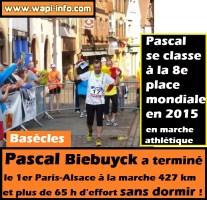 Basècles : plus de 65 h d'effort sans dormir pour Pascal Biebuyck pour terminer le 1er Paris - Alsace