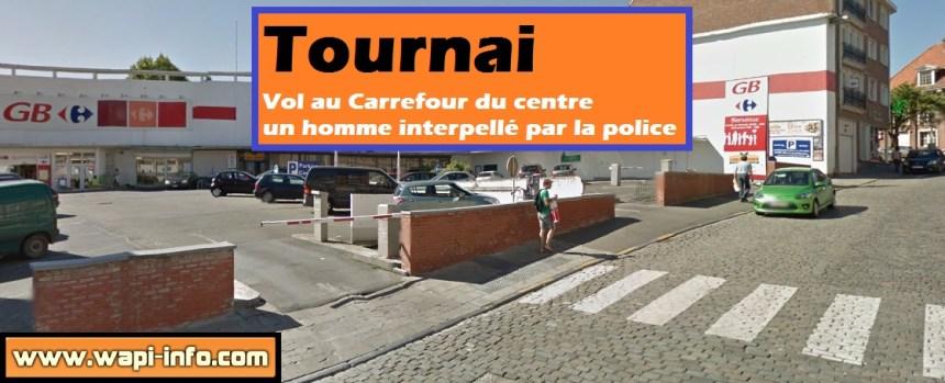 Tournai carrefour gb vol