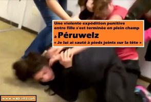 Une expédition punitive entre fille se termine en plein champ à Péruwelz  « Je lui ai sauté à pieds joints sur la tête »