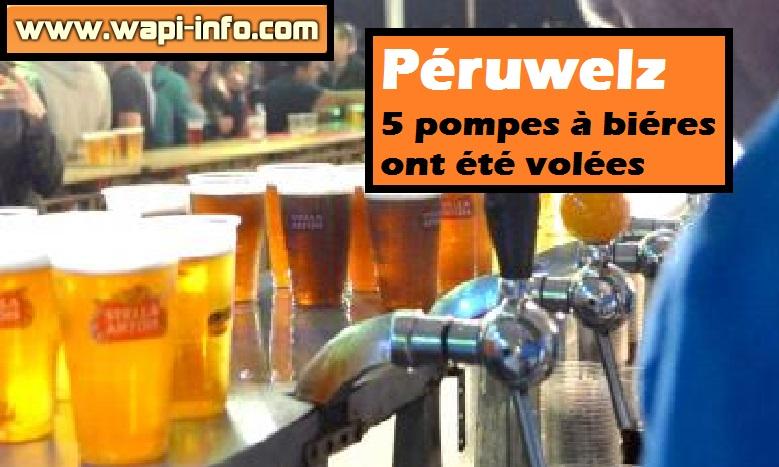 peruwelz pompes bieres