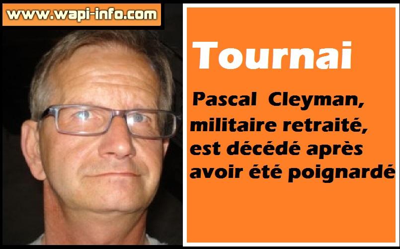 Pascal Cleyman deces