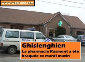 Ghislenghien : la pharmacie Rasmont braquée