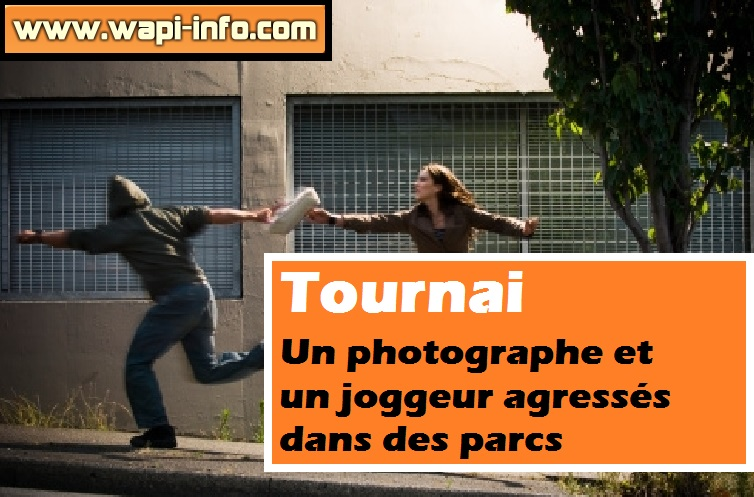 Tournai agression parc