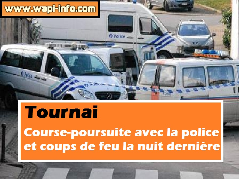 Tournai course poursuite police