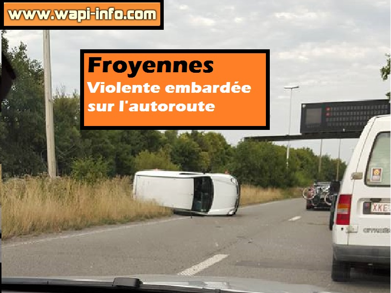 accident autoroute froyennes