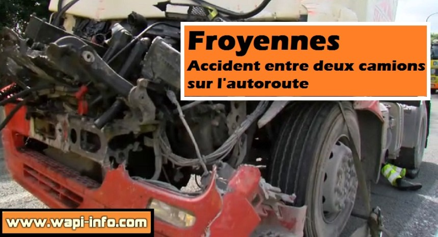 froyennes accident camions