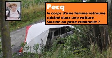 Pecq : le corps d'une femme retrouvé calciné dans une voiture - suicide ou piste criminelle ?