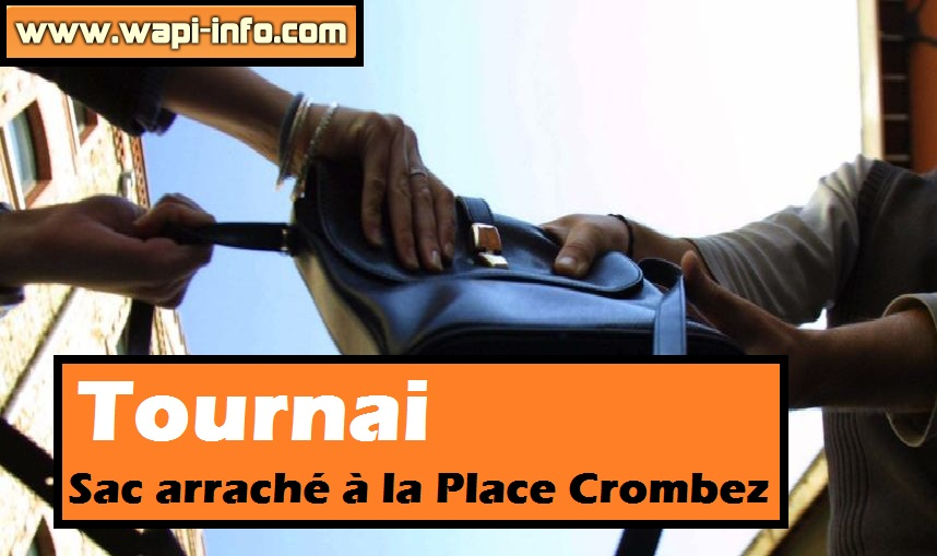 sac arrache place crombez