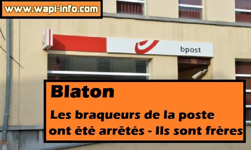 Blaton braqueurs