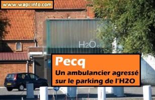 Pecq : un ambulancier agressé sur le parking de l'H2O