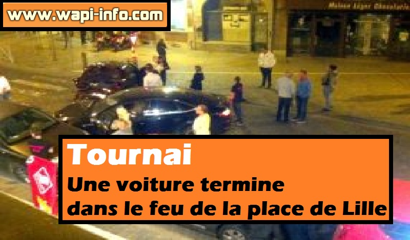 tournai place lille accident