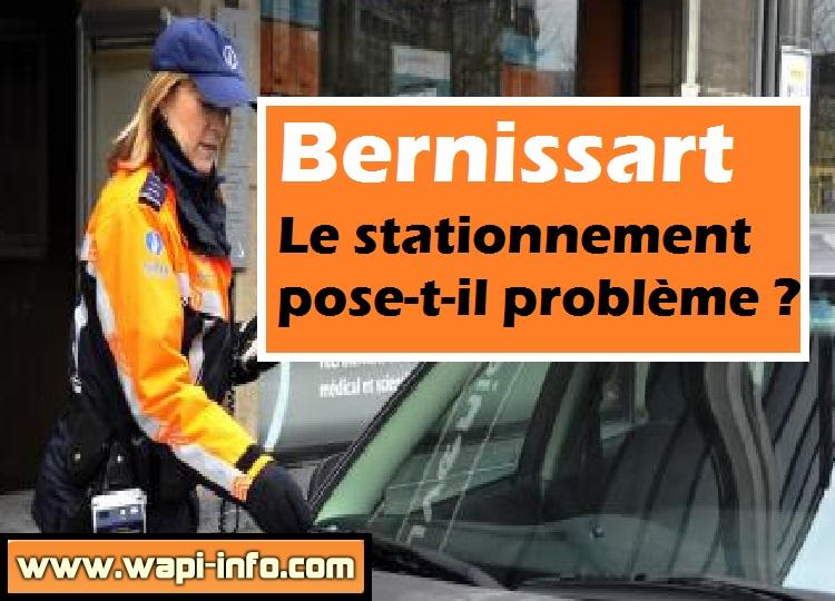 Bernissart probleme stationnement