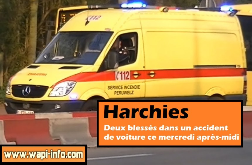Harchies accident au pont