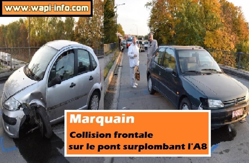 Marquain collision frontale