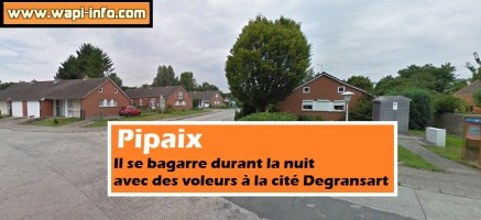 Pipaix : il se bagarre durant la nuit avec des voleurs à la cité Degransart