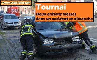 Tournai : 2 enfants blessés dans un accident - une ambulance faisait demi-tour