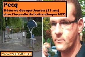 Pecq : l'enquête se poursuit suite au décès de Georget Jouretz dans l'incendie à l'H2O