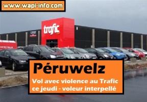 Péruwelz : vol avec violence au Trafic - voleur interpellé