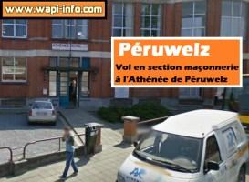 Péruwelz : vol en section maçonnerie à l'Athénée de Péruwelz